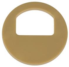 Garderobenmarken - OHNE Nummerierung Gold