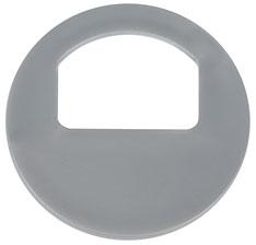 Garderobenmarken - OHNE Nummerierung Silber