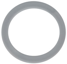 Ringchip Ø 38 mm mit Ø 30 mm zentralem Loch Silber