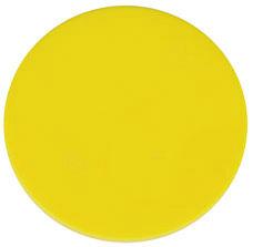 Wertchip Ø 38 mm Gelb