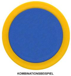 Chip/Ring-Kombination Ø 38 mm mit Ø 30 mm Innenchip